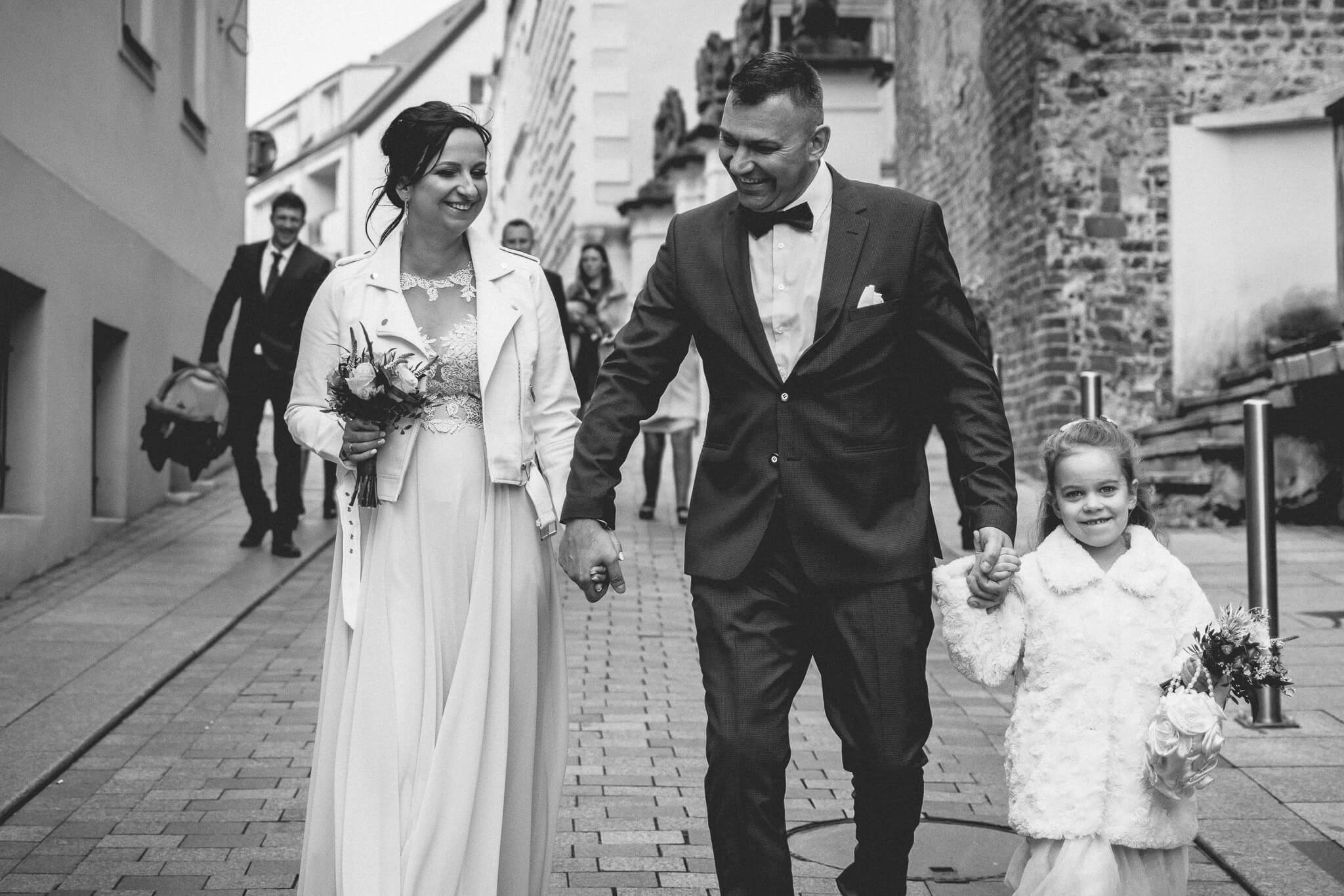 Sesja po ślubie cywilnym Szczecin