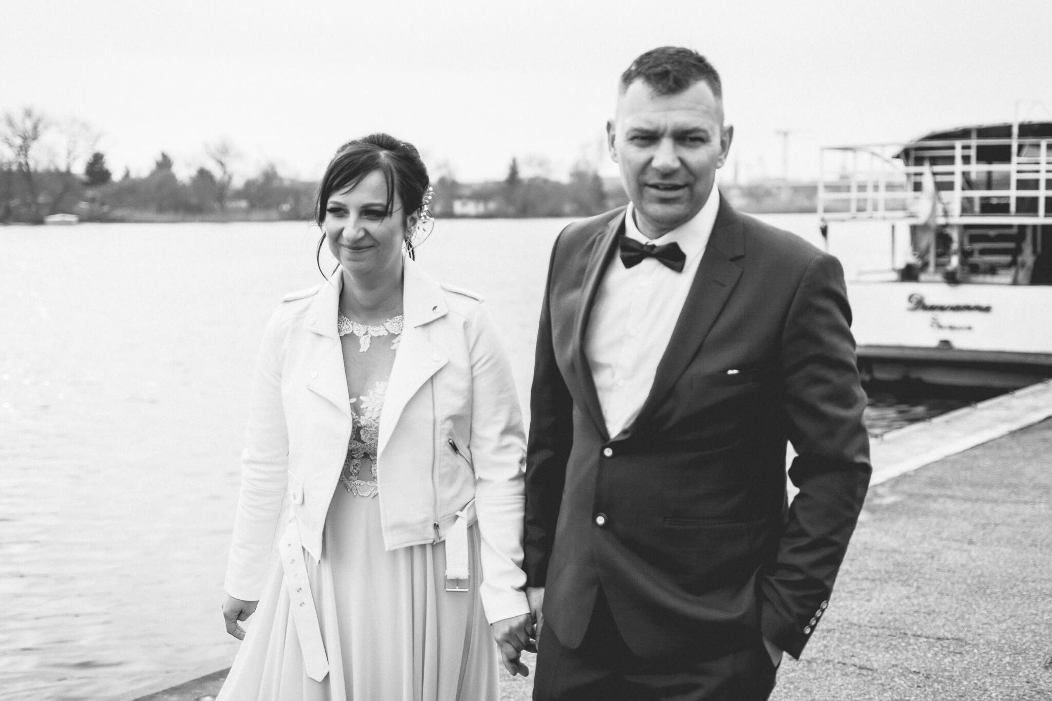 Wały Chrobrego Sesja ślubna Szczecin